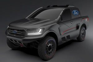 Ford Ranger Rally Truck More Monstrous Than The Raptor