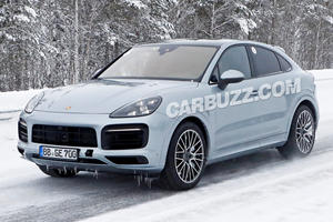 Is This The Hardcore Porsche Cayenne Coupe GT?