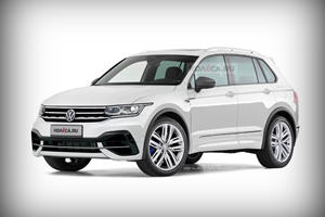 All-New VW Tiguan R Will Have A Bold New Look