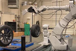 Robots Could Revolutionize Tire Changes