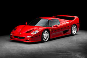 $250,000 Was Spent Restoring This Breathtaking Ferrari F50