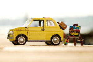 Italy's Most Iconic Car Gets The Lego Treatment