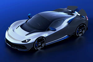Pininfarina Battista Anniversario Celebrates Past While Rocketing Forward