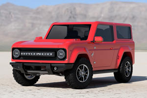 Confirmed! Ford Bronco Is Getting A Manual