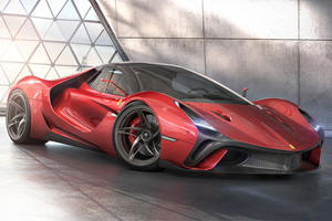 This Is What Ferrari's Next Flagship Hypercar Should Look Like