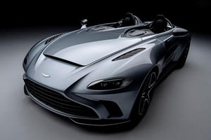 Behold The Aston Martin V12 Speedster With 700 HP And A $1 Million Price Tag