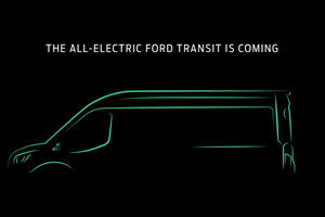 Fully Electric Ford Transit Coming To America