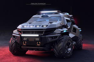 2,000-HP Armortruck SUV Is Ready For The Apocalypse