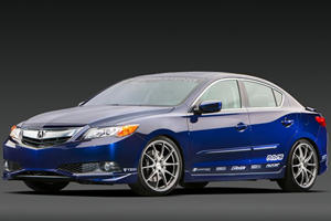 Acura Brings ILX Street and Racing Concepts to SEMA