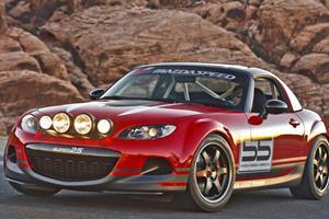 Mazda MX-5 Super25 Races to SEMA