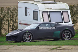 Lotus Esprit FINALLY Spotted Out Testing