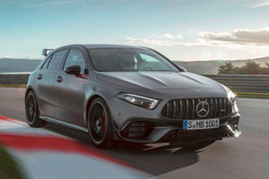 Watch Mercedes-AMG A45 S Destroy The Nurburgring