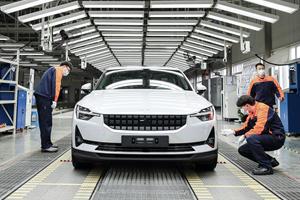 Polestar 2 Production Officially Begins: Tesla Beware