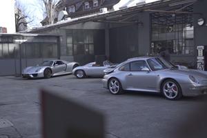 Three Legendary Porsche Models Have A Birthday Party