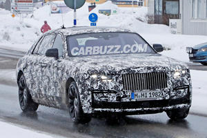 First Look At The New Rolls-Royce Ghost Extended Wheelbase