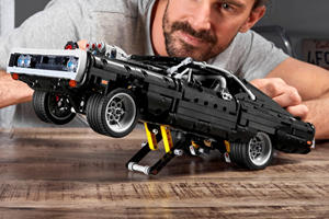Live Your 'Fast And Furious' Fantasy With Dom's Lego Charger