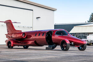 This Learjet-Turned Limousine Is Fully Street Legal