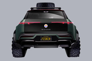 Fisker Ocean SUV Has Some Serious Off-Road Plans