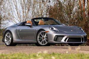 Someone Is Already Selling Their 2019 Porsche 911 Speedster