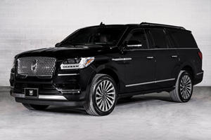 Rule The Road With This Armored Lincoln Navigator