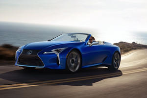 2021 Lexus LC 500 Arrives With Some Important Upgrades