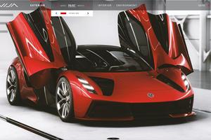 Lotus Evija Has The Coolest Configurator We've Ever Seen