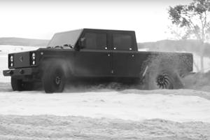 The Bollinger Electric Truck Will Be An Off-Road Beast