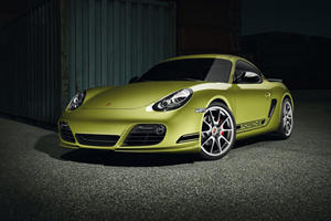 First Look: Porsche Cayman R