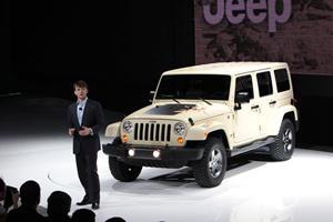 New York 2011: 2011 Jeep Wrangler Mojave