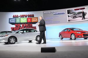 New York 2011: 2012 Honda Civic Lineup Debut