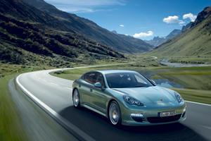 Porsche Panamera Diesel Launches in UK