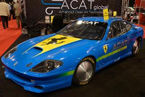 ACAT Ferrari 575 Visits Vegas