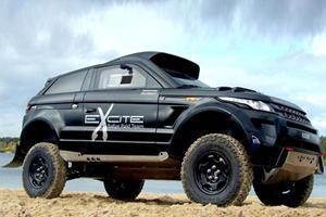 Range Rover Evoque Desert Warrior Heads to Dakar