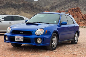 Weekly Treasure: 2002 Subaru WRX Wagon