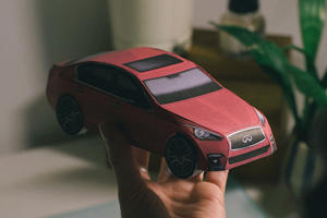 This Infiniti 'Carigami' Looks Like A Great Way To Kill Some Time