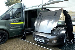 Check Out This Awesome Aston Martin Service Van