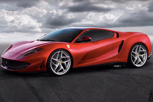 What If The Ferrari 812 Superfast Went Mid-Engined?