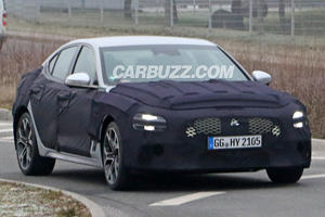 First Look At The 2021 Genesis G70 Facelift