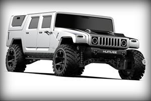 Hummer H1 Reimagined As A Modern Off-Road Bruiser