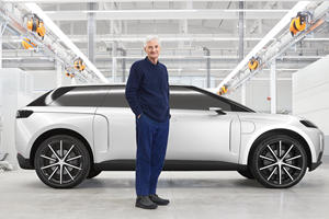 We Finally Get To See Dyson's Canceled Electric Car