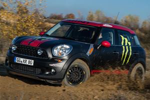 Mini Countryman X-Raid Dakar Support Vehicle