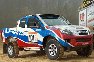 Isuzu Prepares D-Max for Dakar