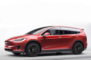 The Tesla Model X Is The Coolest Minivan You Can't Have