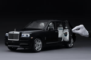Rolls-Royce Cullinan Scale Model Costs More Than Your Car