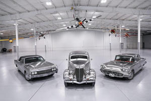 Super Rare Stainless Steel Ford Trio Head To Auction