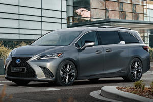 Lexus Minivan Could Be The Best Thing Since The Mercedes R-Class
