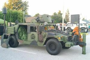 Insane Street-Legal 1993 Humvee Slantback Comes With M2 Machine Gun