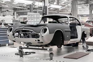 Aston Martin Begins Building The Ultimate Bond Fan's Dream Car