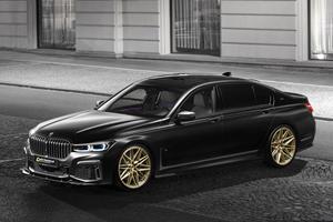 BMW 7 Series Gets Menacing Makeover