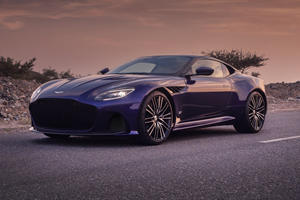 One-Off Aston Martin DBS Arabesque Is Filled With Camel Hair